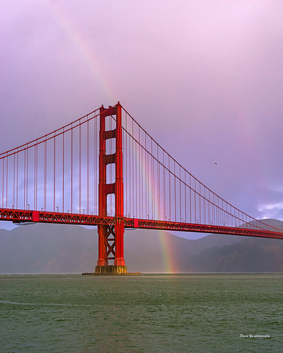lucky rainbow luckyrainbow san francisco sanfrancisco golden gate bridge goldengatebridge sfist luckysnapshot fort point fortpoint 三藩市
