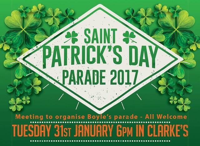 St Patricks Day Parade 2017