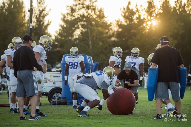 UCLA Football Fall Camp