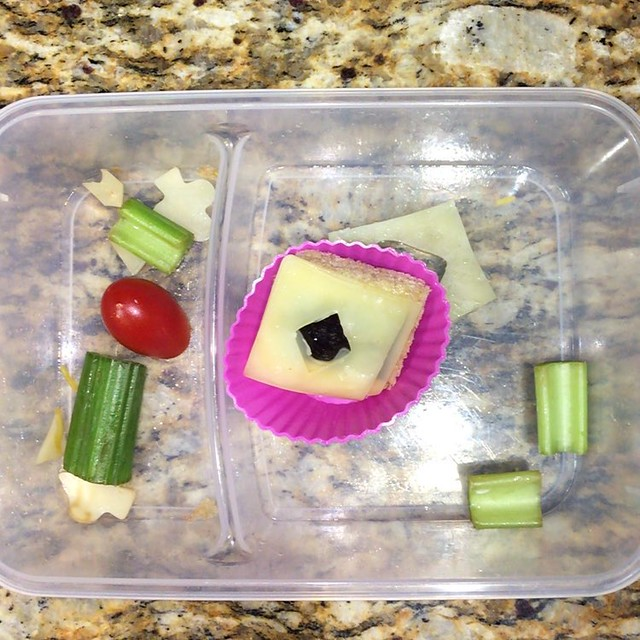 What's left of today's lunch #Bento 26