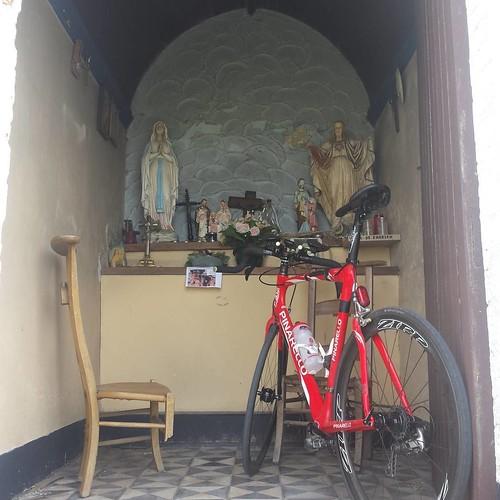 Schietgebedje voor een nieuwe velo. #cycling #pinarello #zipp #zipp303 #ot