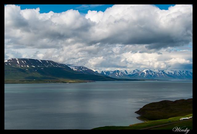 Islandia Myvatn Godafoss Akureyri Glaumbaer Vidimyrarkirkja Grundarfjordur - Fiordo Eyjafjördur