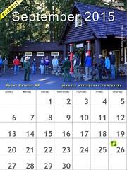 September 2015 #USAWild Calendar: Mount Rainer National Park @MountRainierNPS @NatlParkService