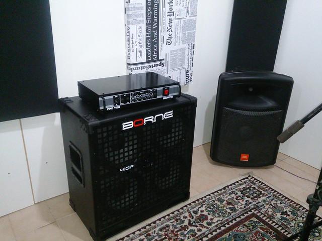 Aplificador Borne 410p