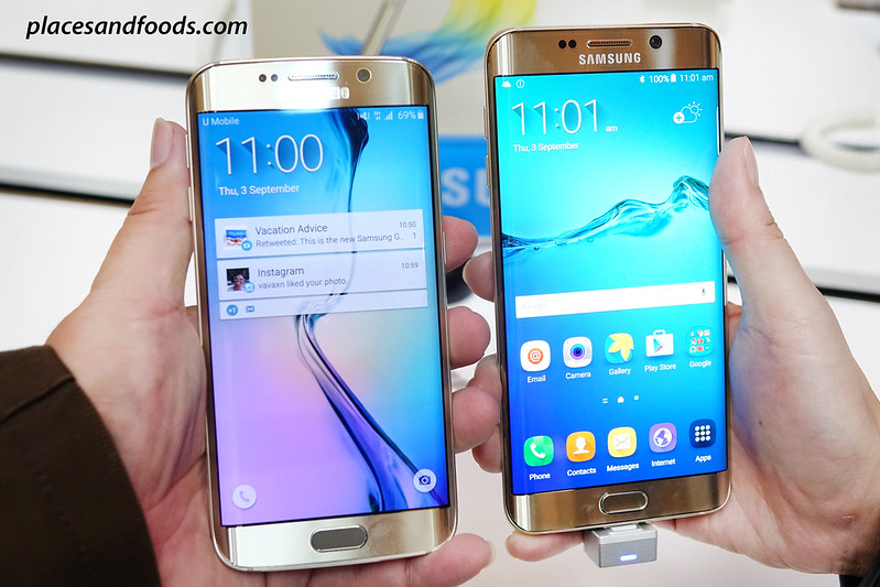 galaxy s6 edge and s6 edge plus comparison