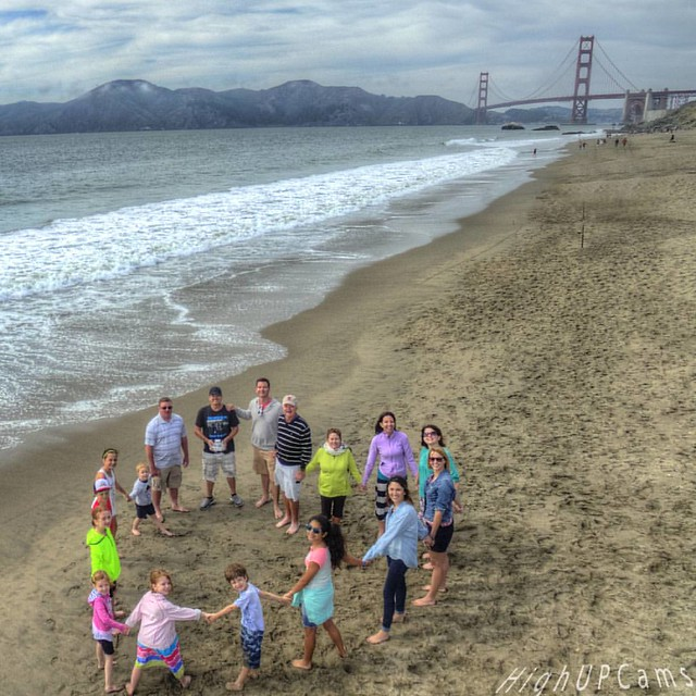Family beach portrait #family #photo #ANourse #photographer #HighUPCams #HUC #drone #droning #dronefly #aerial #phantom #phantom3 #aerialphotography #portrait #selfie #smile #SanFran