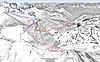 Mapa Mölltaler Gletscher