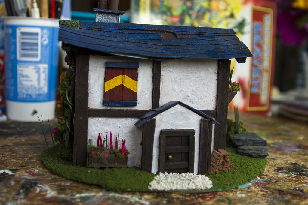 Model House: Front view