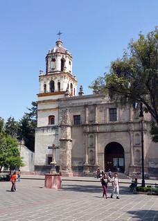 Bild von Iglesia de San Juan Bautista. church saint john mexico df san catholic juan iglesia convento baptist coyoacan bautista