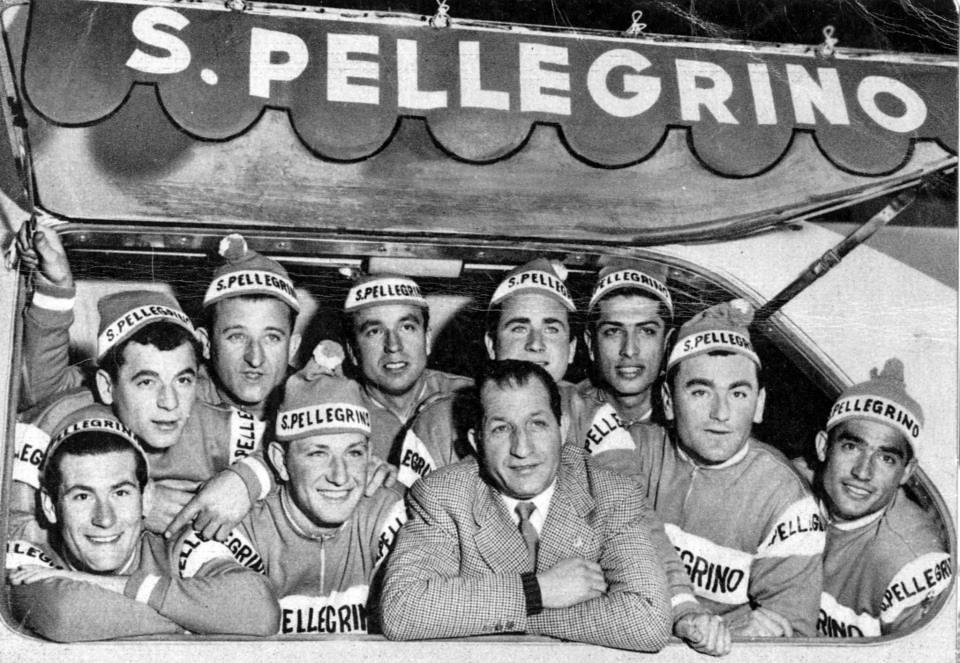 Bartali e la San Pellegrino 1958