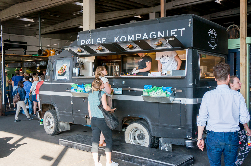 Copenhagen Street Food - stall