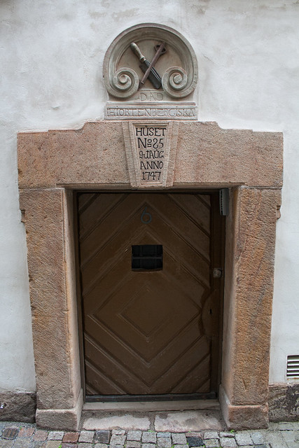 Small doorway in Gamla Stan