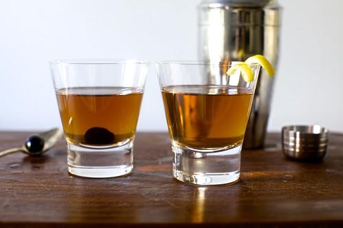 cherry vs. lemon peel: go!