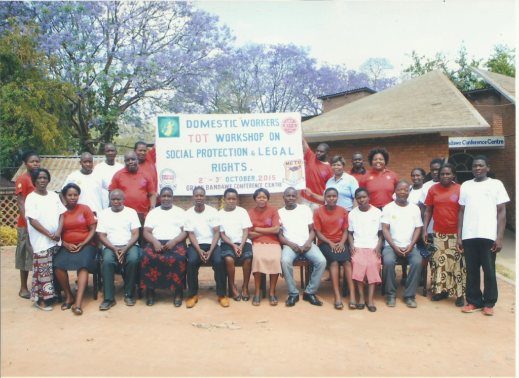 2015-10-2~3 Malawi: CIAWU workshop for DWs leaders