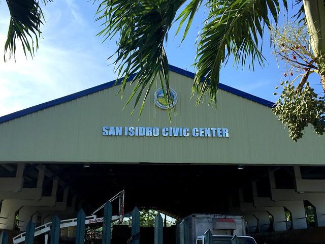 The newly-rehabilitated San Isidro Civic Center - June 2015.