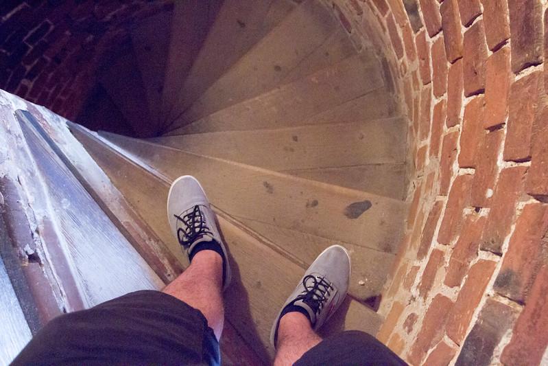 Zamek Troki - Stairs - Trakai Castle