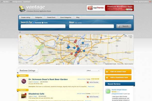 AppThemes Vantage v3.0.6 - WordPress Theme