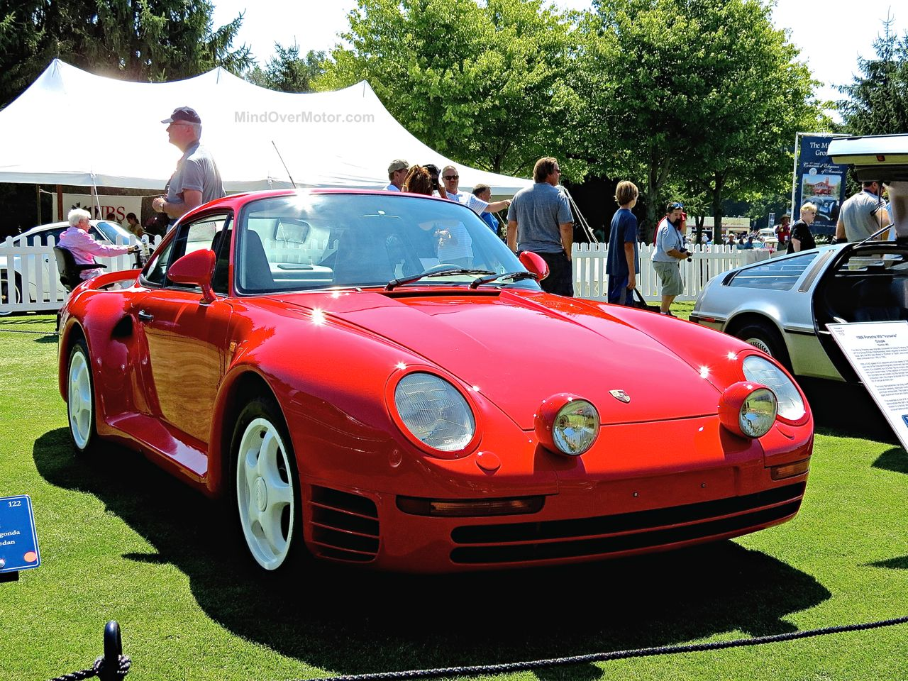 Porsche 959 Concours of America