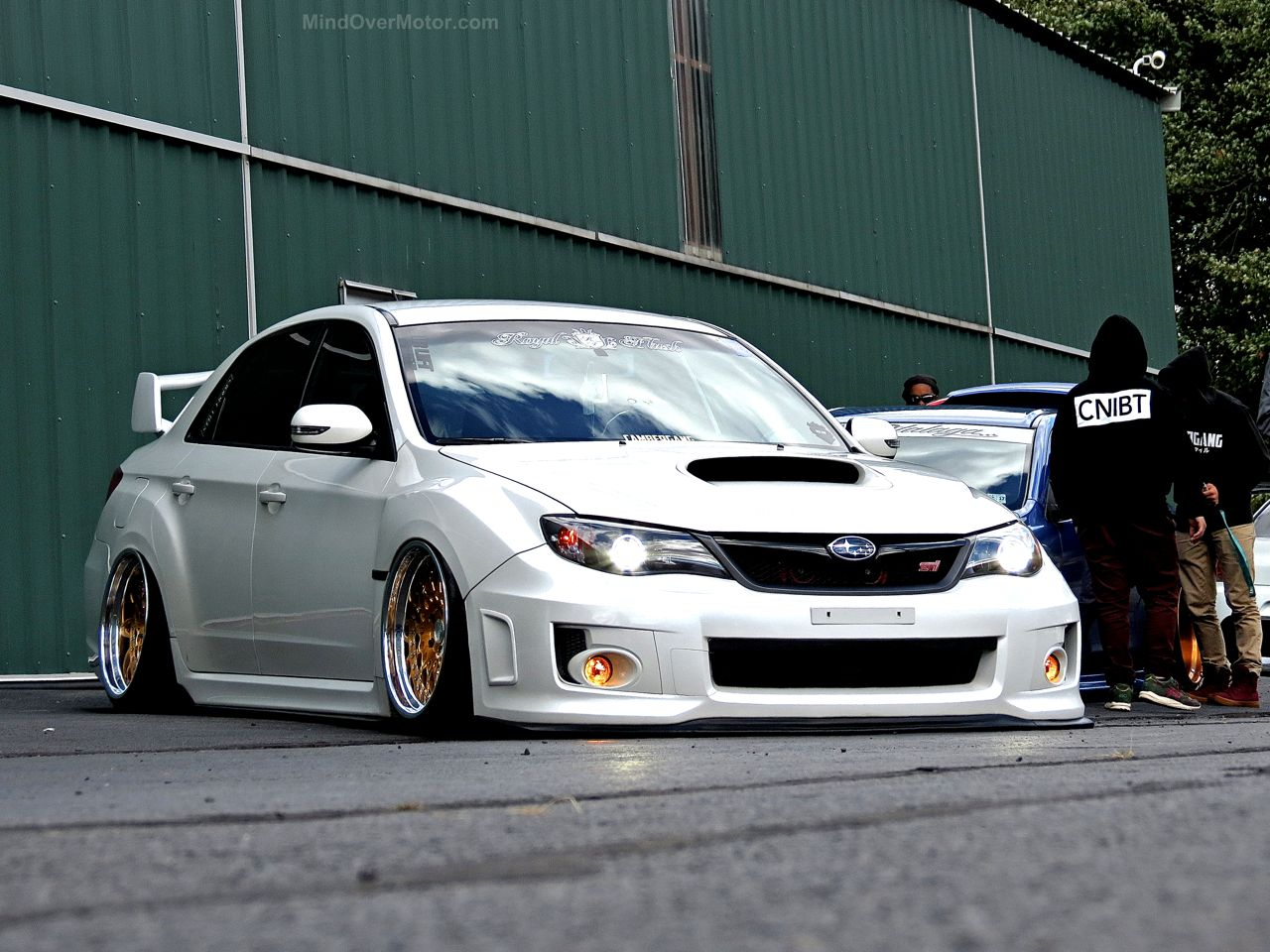 First Class Fitment Subaru STI GR Stanced