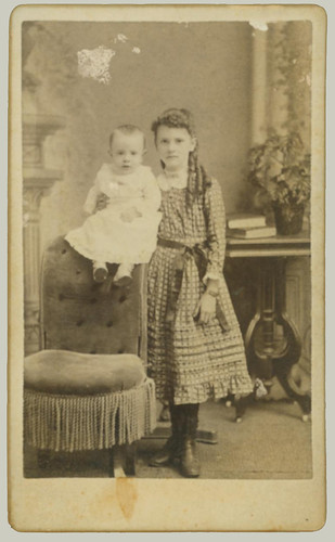 CDV Two Children