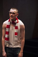Brian Vernel (Paul) in Barbarians at the Young Vic :copyright: Ellie Kurttz