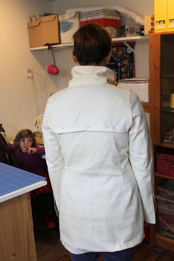 quart coat muslin