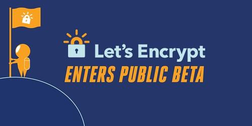 Let's encrypt public beta