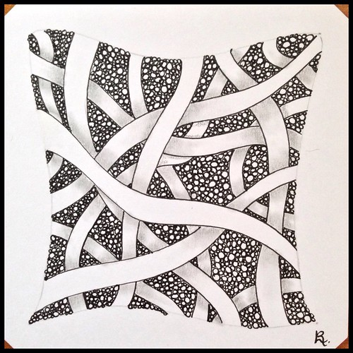 Zentangle 114 for The Diva's Challenge #245