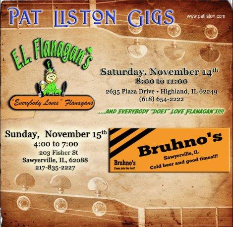 Pat Liston 11-14-15