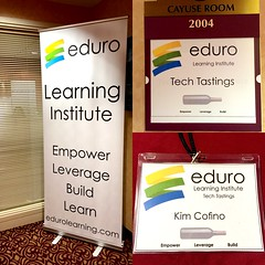 So fun to see our branding in action @edurolearning #eduro