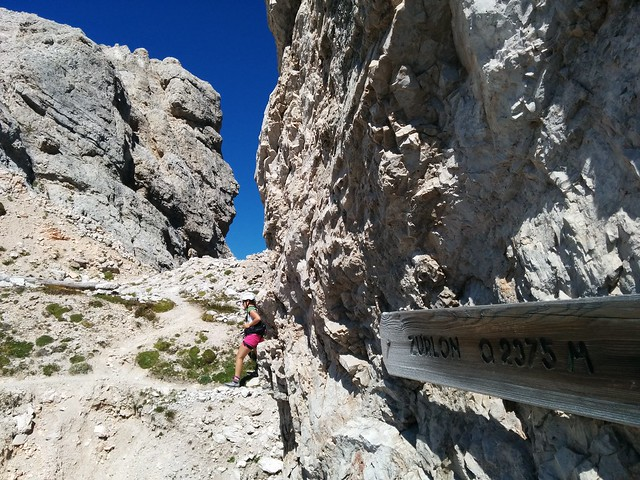 Forcella Zurlon 2.375 m