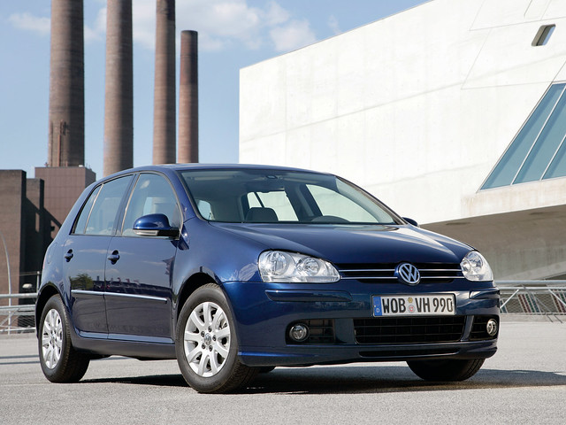 Хэтчбек Volkswagen Golf 5-door (Typ 1K). 2003 – 2008 годы