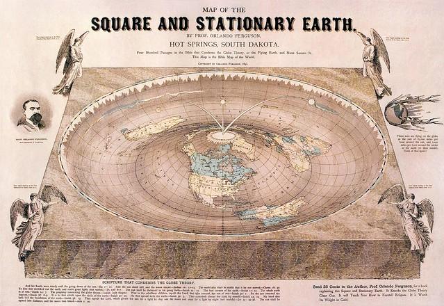 библейская карта мира