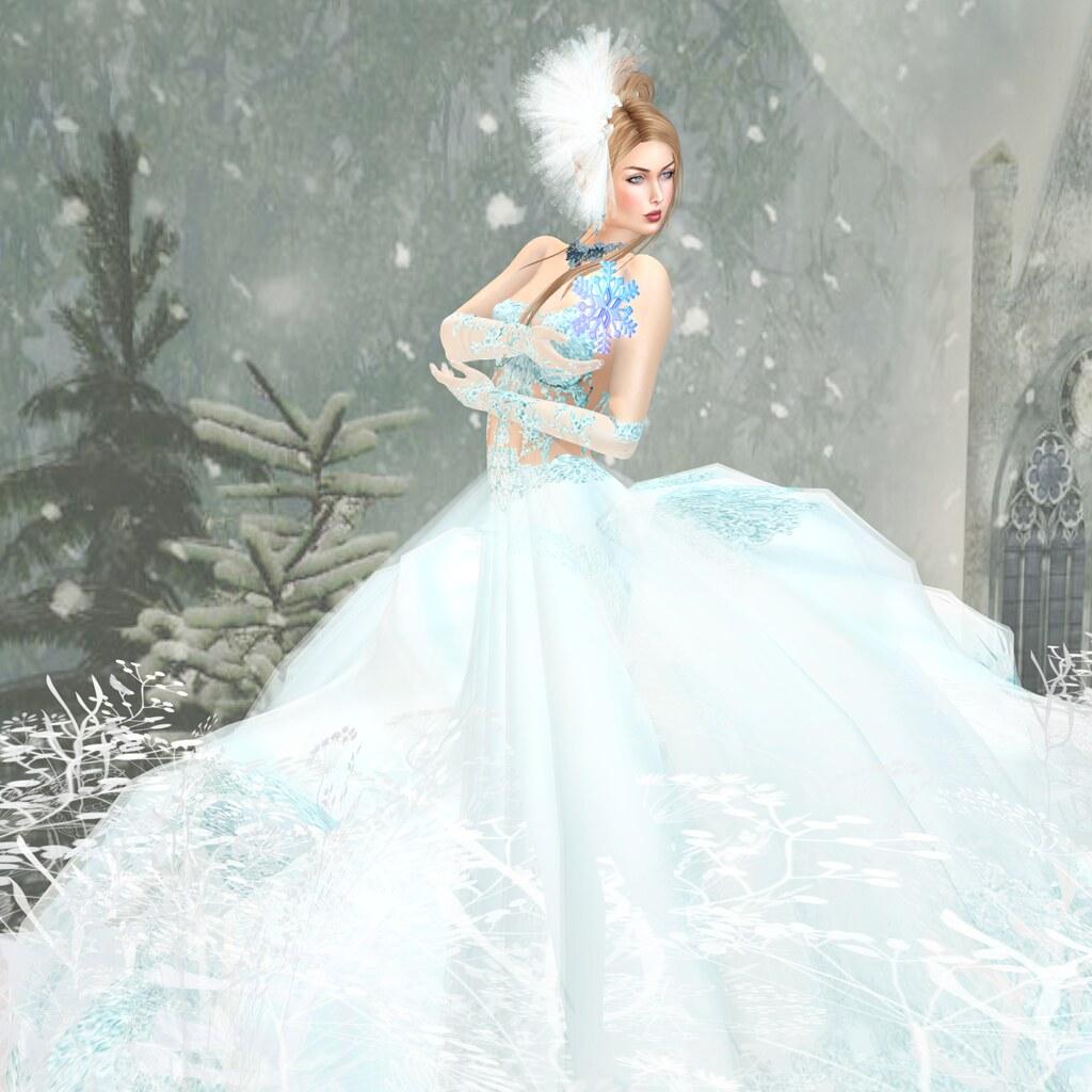Serendipity gown, baby blue, Sascha's Designs
