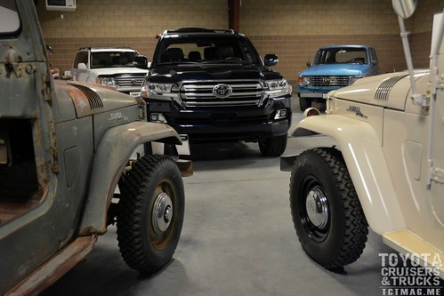 Old and New, all Land Cruiser - by Daniel Markofsky