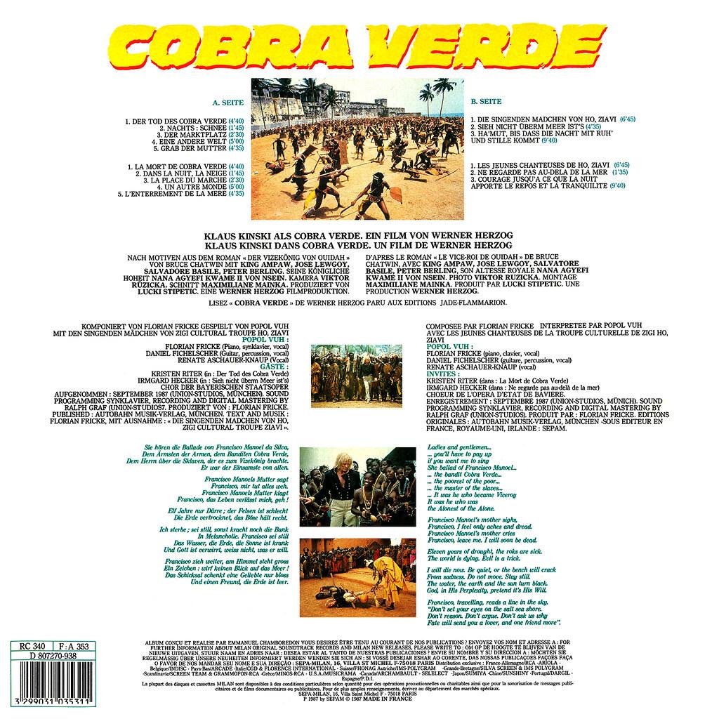 Popol Vuh - Cobra Verde b