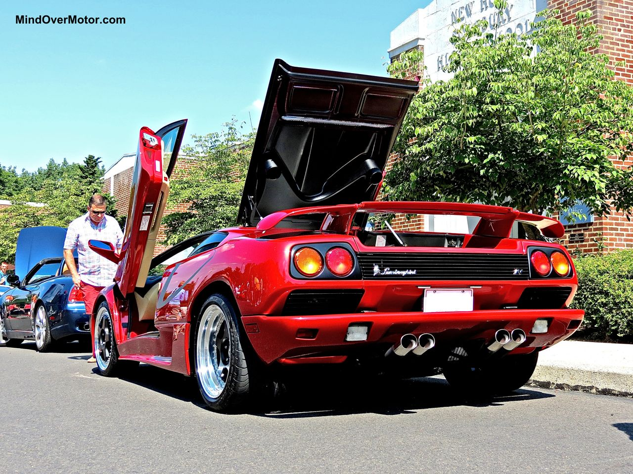 Lamborghini Diablo SV New Hope Rear