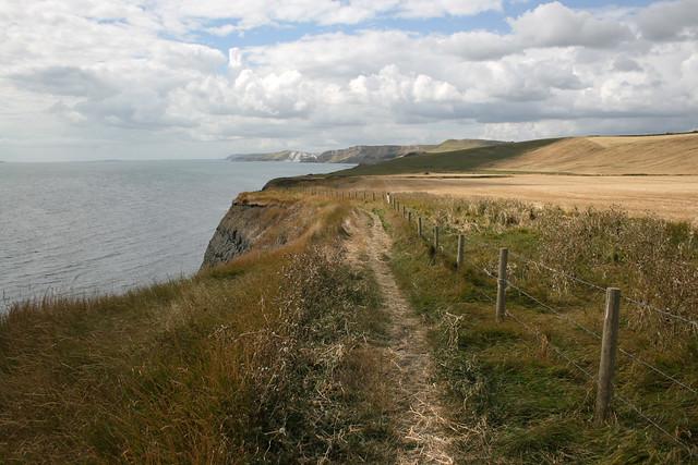 The coast east of Kimmeridge