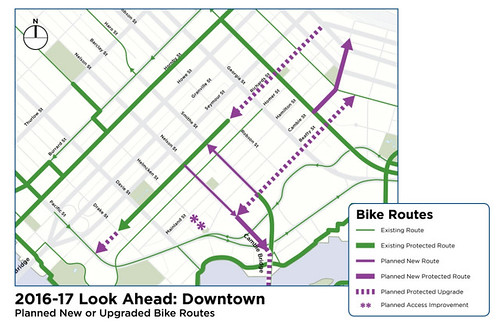 Downtown Bike Lane Improvements
