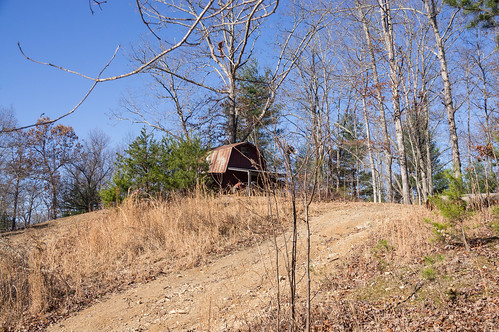Old barn on North Carolina side