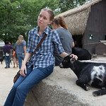 Emily and the goat