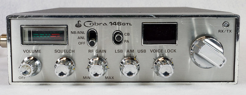 RD15026 Vintage Cobra 146 GTL AM SSB CB Radio DSC07756