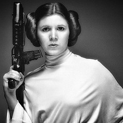 ‪Chin up princess, or the crown slips... #RIP #carriefisher #theforce‬ #starwars #2016