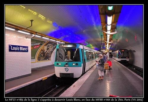 Officiellement correspondance la plus courte du métro...