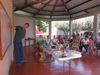 Honduras - Taller de salud en el CMP (2)