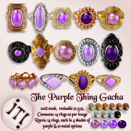 !IT! - The Purple Thing Gacha Image - SecondLifeHub.com