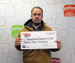 Jonnathan Grimes - $2,500 Mega Millions