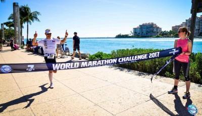 Třetí den, třetí maraton, třetí kontinent. V Miami Vabroušek druhý