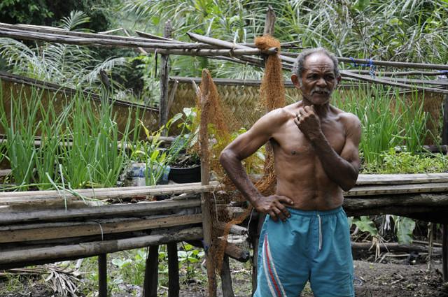 Luis Ferreira é um dos camponeses que tem suas terras ameaçadas na região - Créditos: Geraldo Iensen