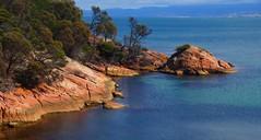 Coles bay rocks